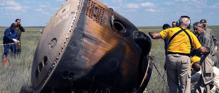 Soyuz TMA-19M Tim Peake Lands at Peterborough Cathedral
