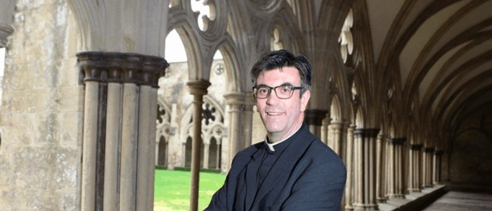 New Dean of Salisbury Cathedral