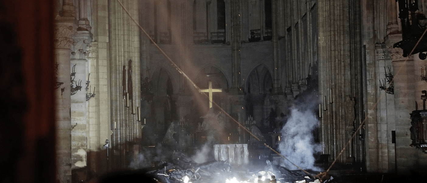 Notre Dame Fire Paris France