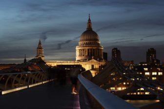 St Pauls Cathedral, London at Night