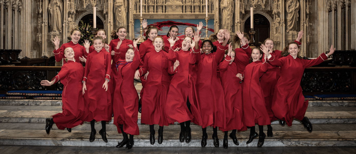 Winchester Cathedral Girls Choristers 20