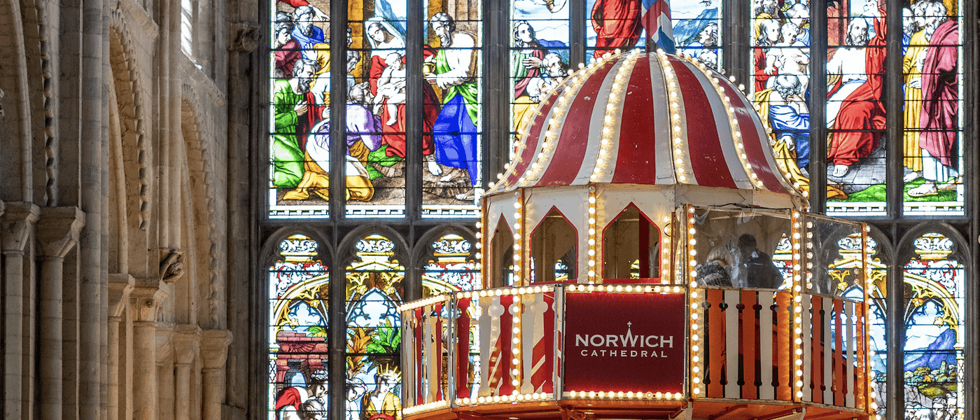 Helter Skelter Norwich Cathedral 2019