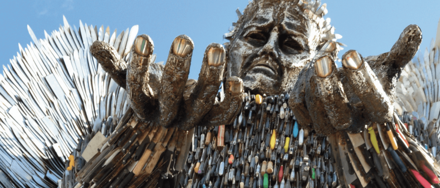 Knife Angel Rochester Cathedral