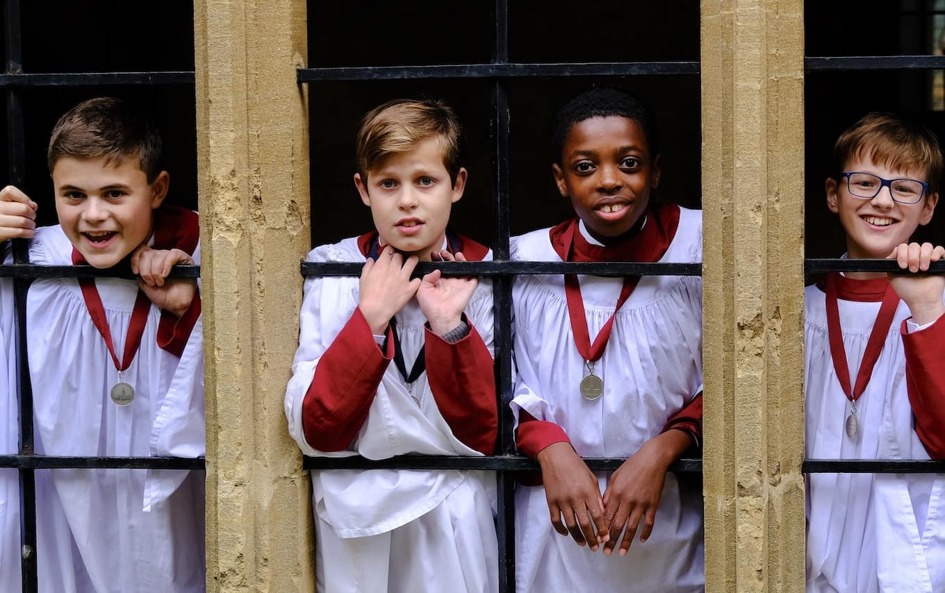 be a chorister for the day