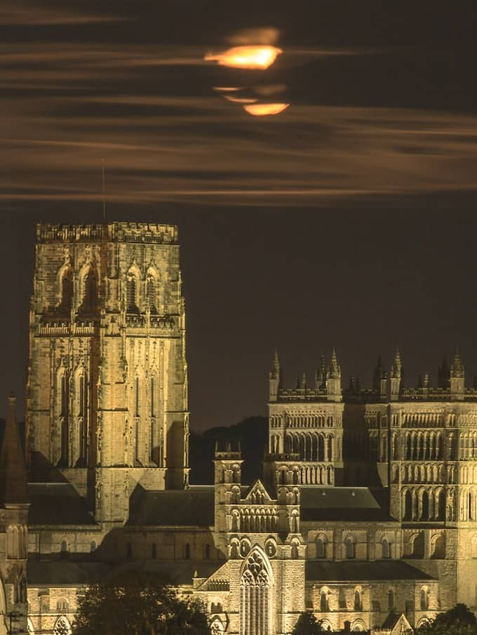 Durham Cathedrals At Night