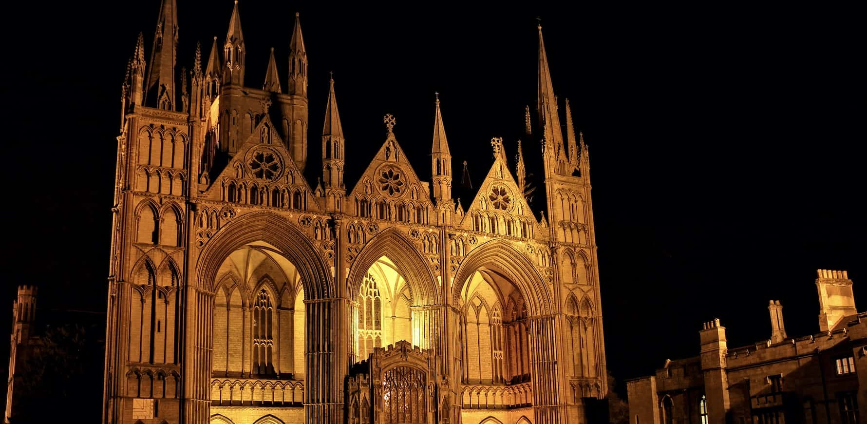 Peterborough Cathedrals at Night Event 22nd May 2020