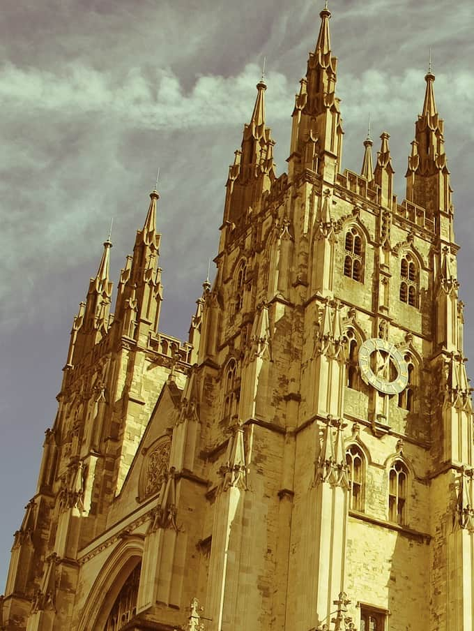 Canterbury Cathedral Cathedrals at Night 2020