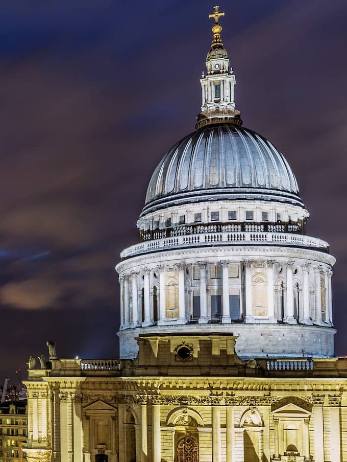 St Paul Cathedral London Cathedrals at Night