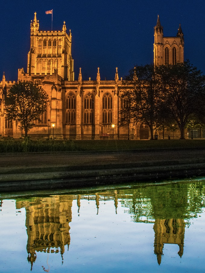 Bristol Cathedrals at Night