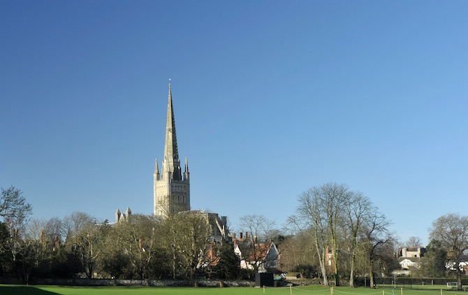 Norwich Cathedral Coronavirus Prayer