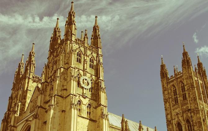 Canterbury Cathedral Coronavirus