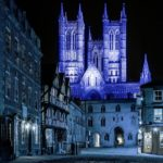 Lincoln Cathedral Turns Blue Good to Go