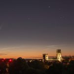 Neowise Comet Durham Cathedral