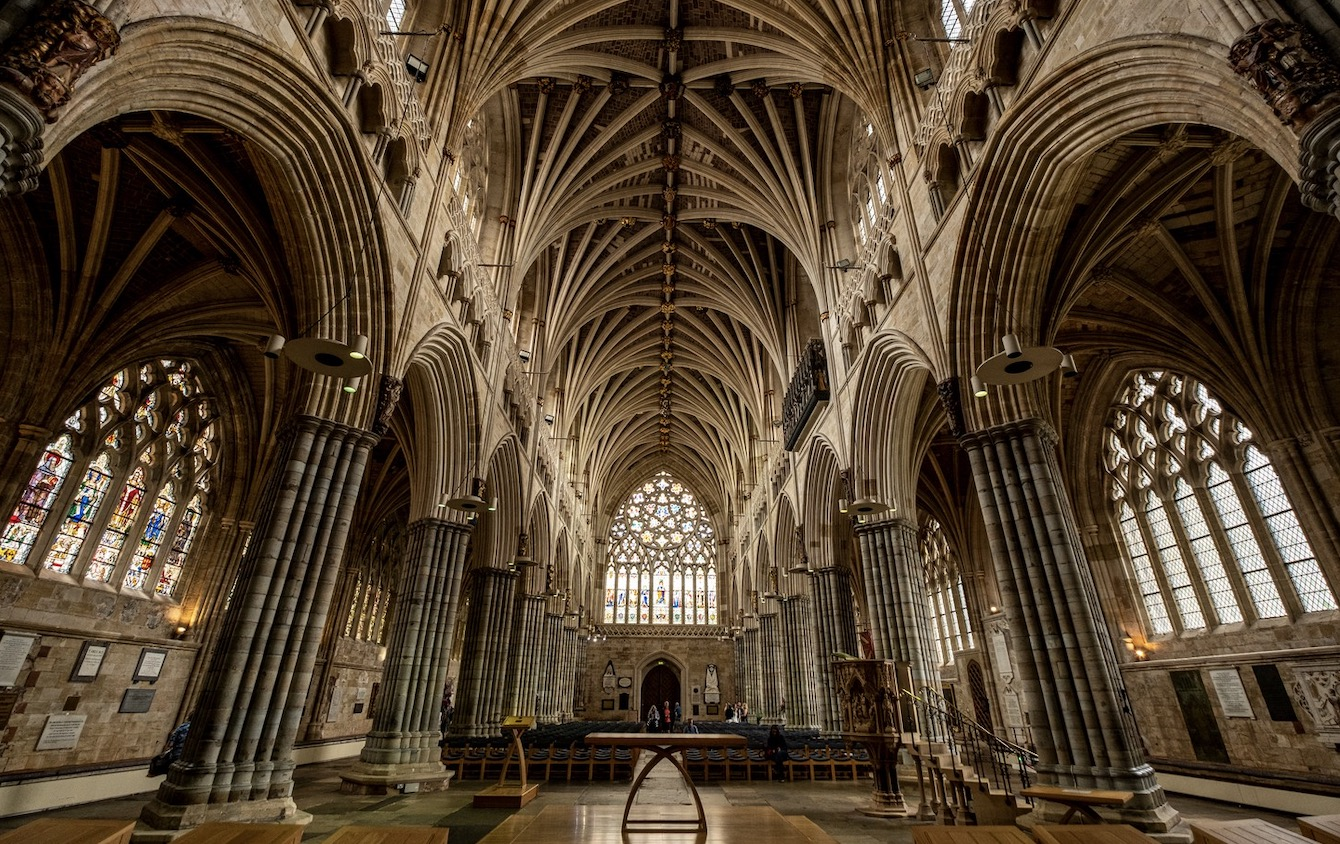Take a visit to Exeter Cathedral