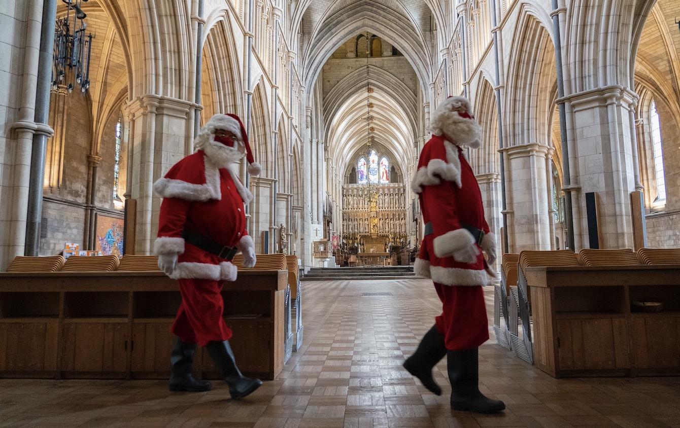 Santa at Southwark Cathedral 2