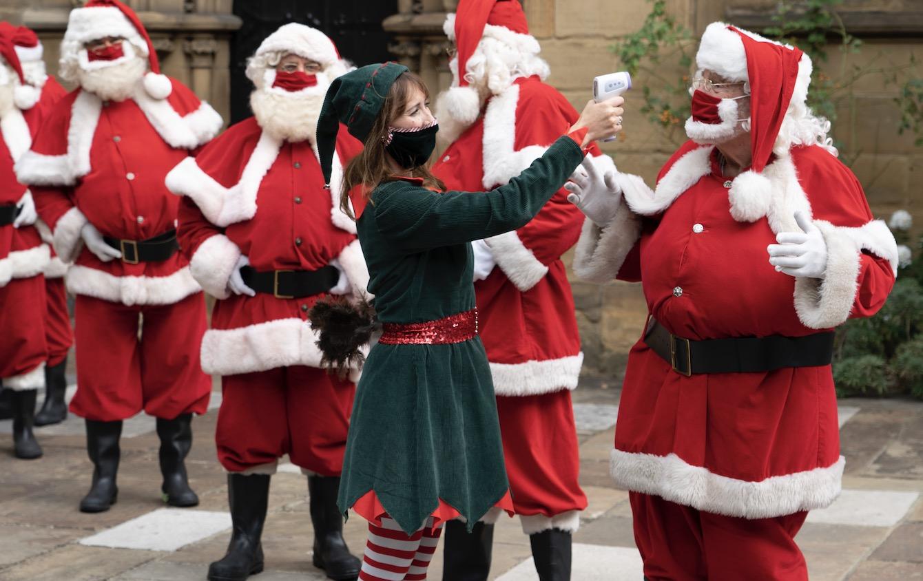 Santa at Southwark Cathedral 3