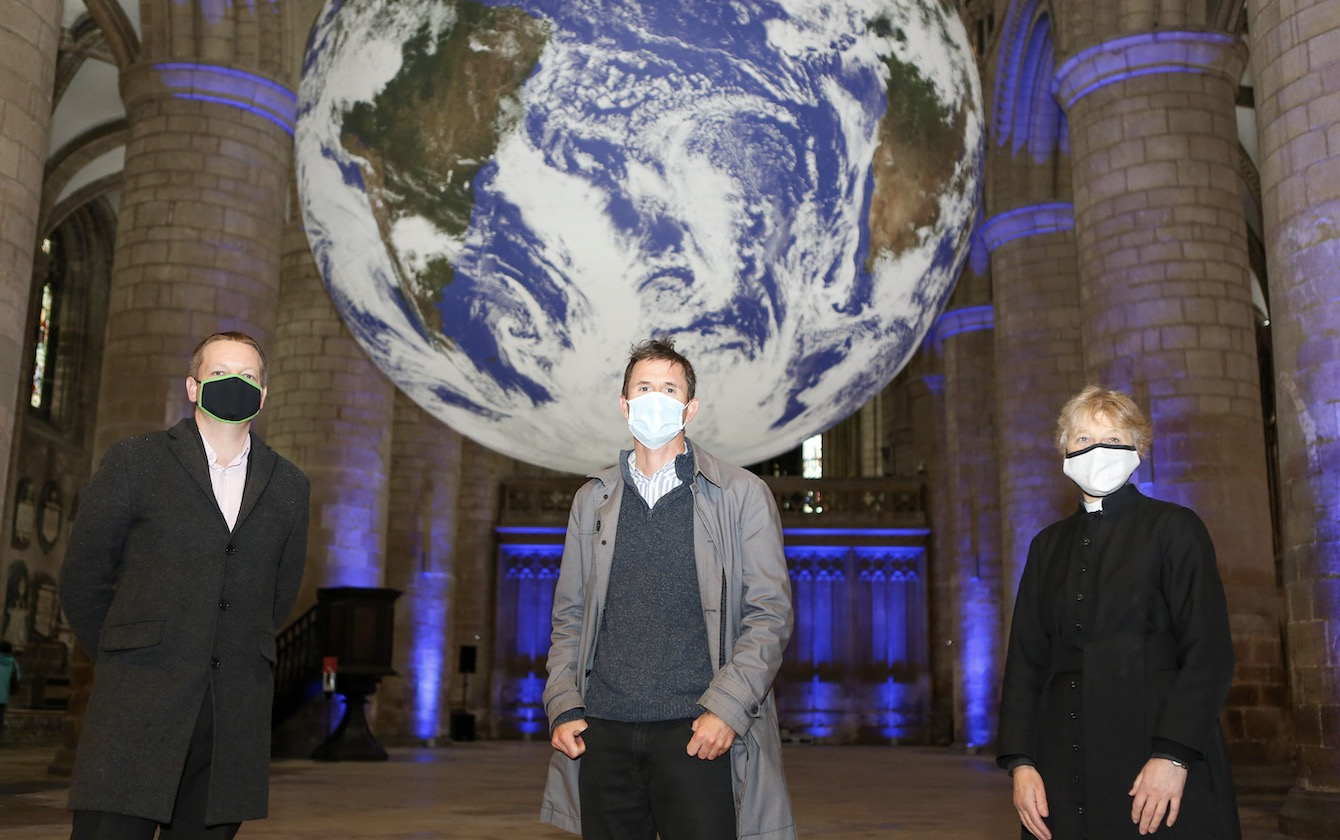 Gaia Opens In Gloucester Cathedral
