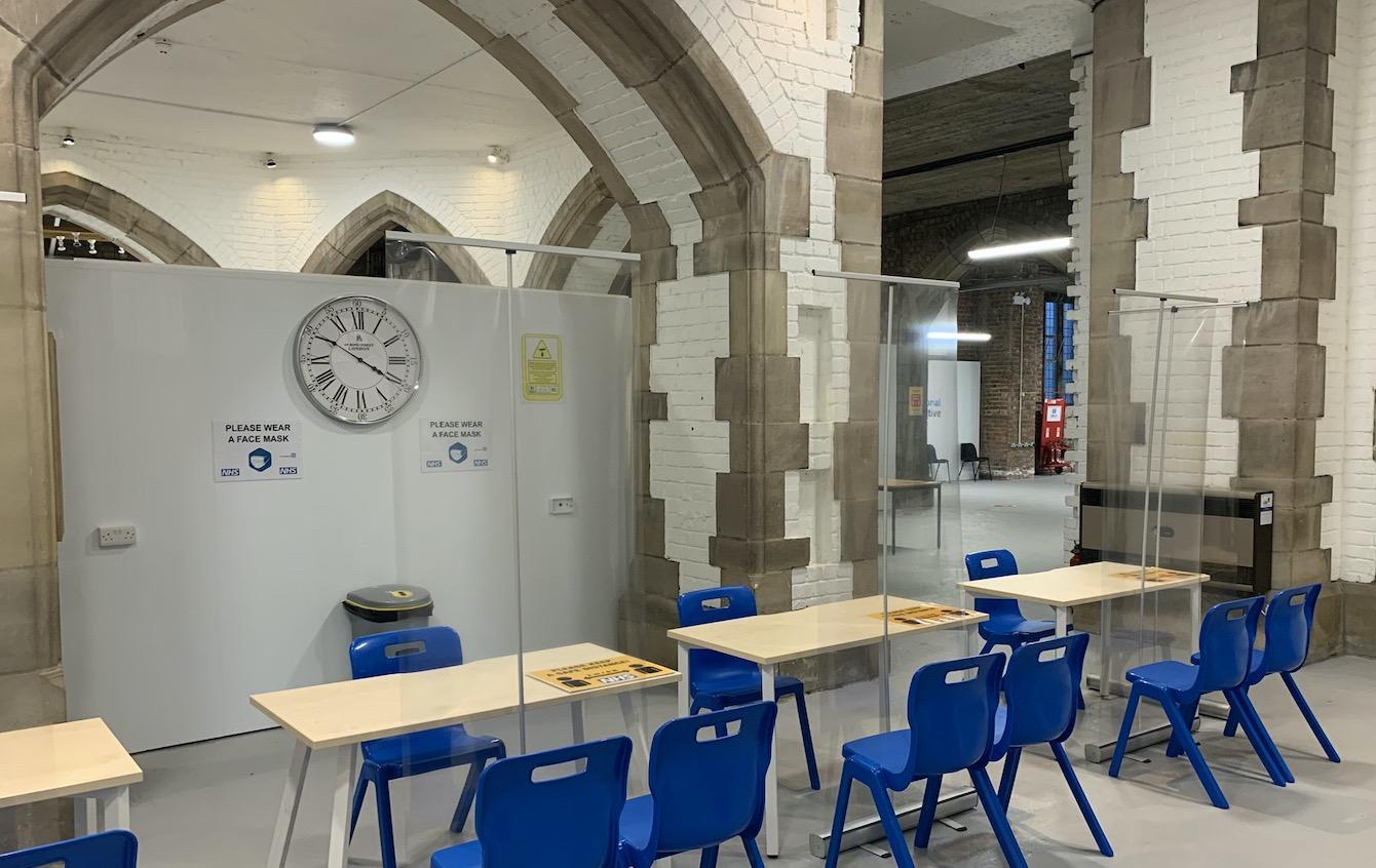 Blackburn Cathedral Vaccination Centre 2