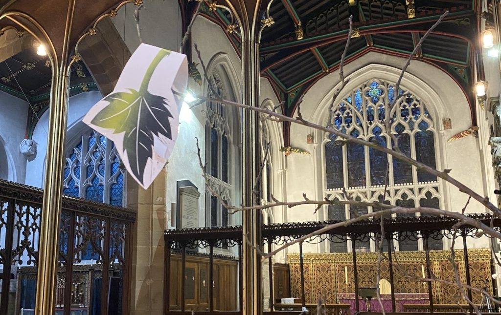 Tree of Loss: Tree of Hope grows at Leicester Cathedral