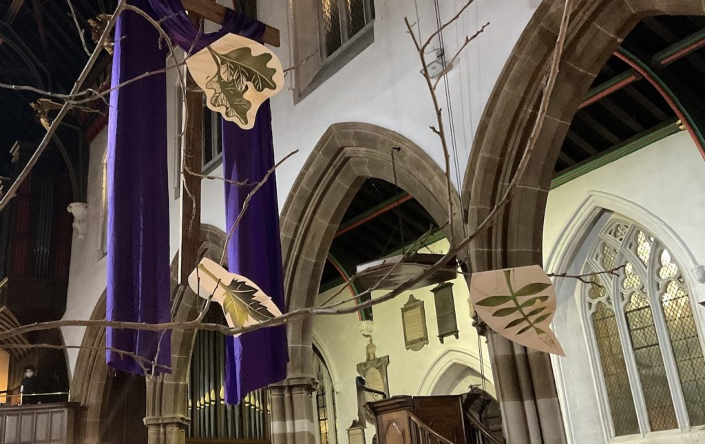 2 Tree of Loss: Tree of Hope grows at Leicester Cathedral