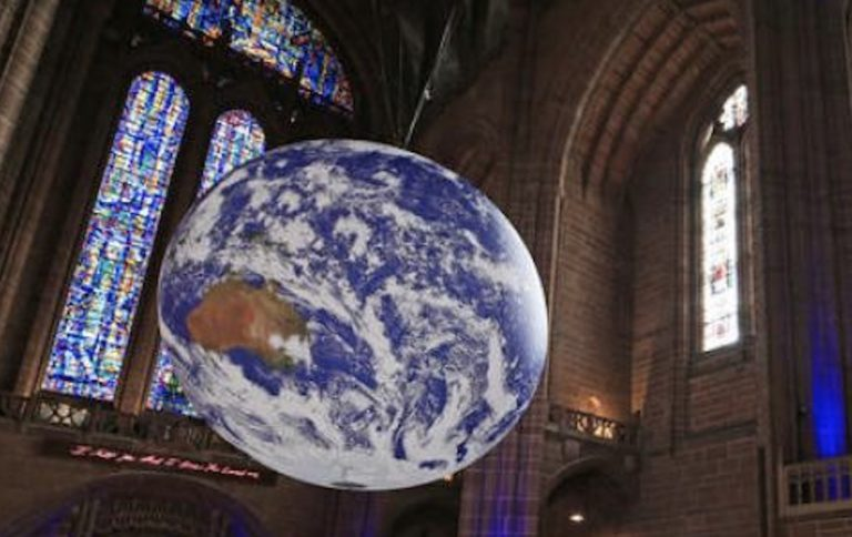image from This is Planet Earth - Leicester Cathedral