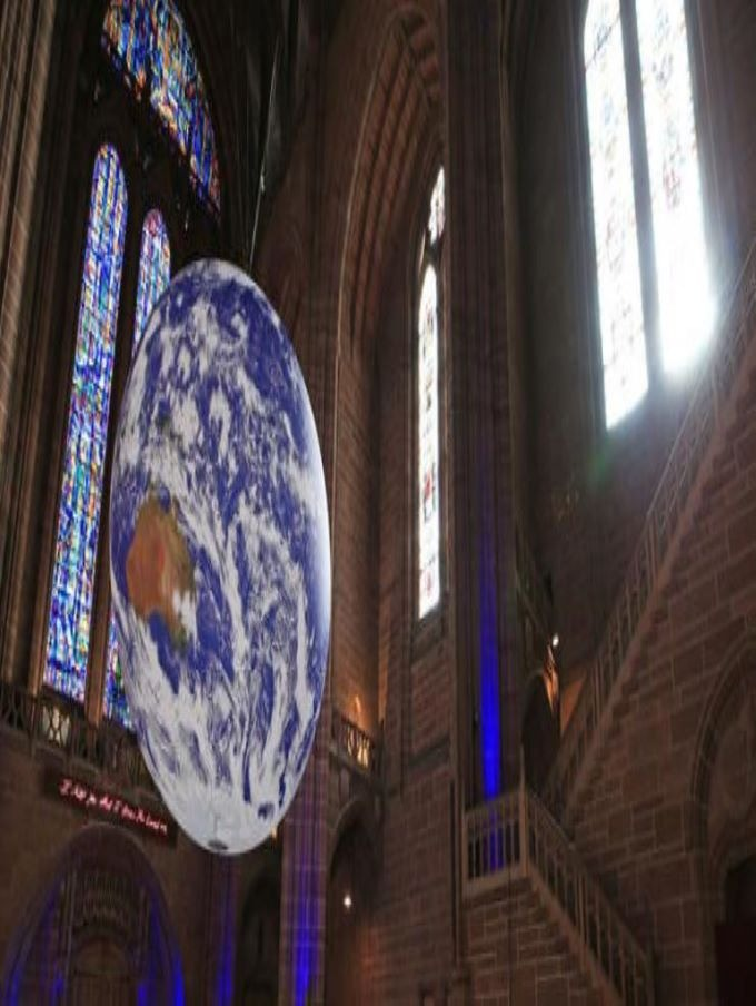 Gaia in Liverpool Cathedral