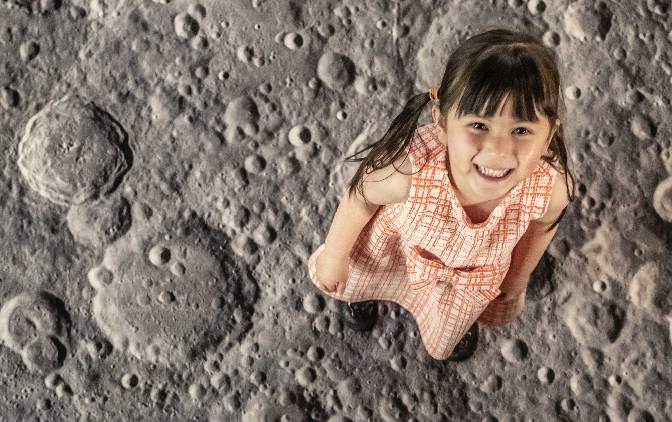 Walking on the Moon Peterborough Cathedral