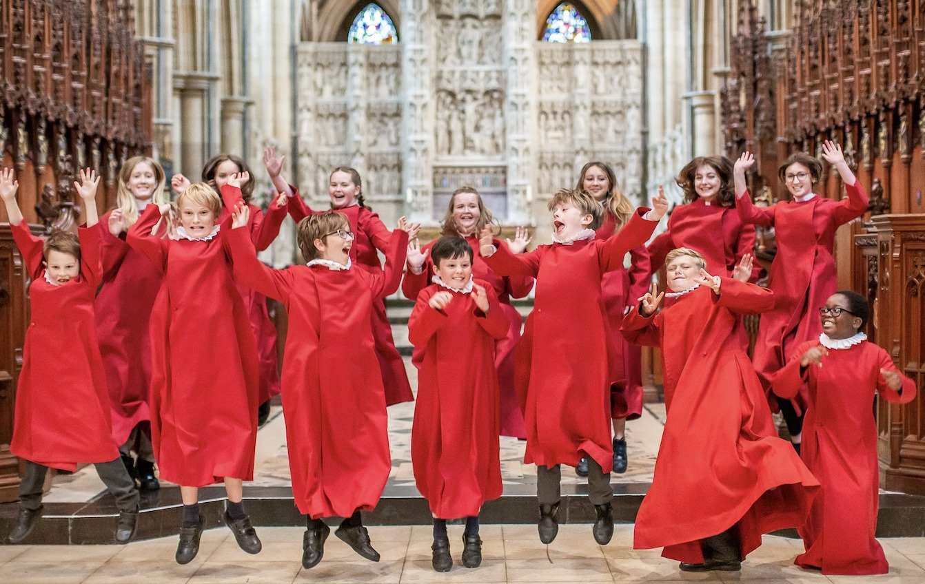 Truro Choristers Donate Royalties for 10,000 COVID Jabs