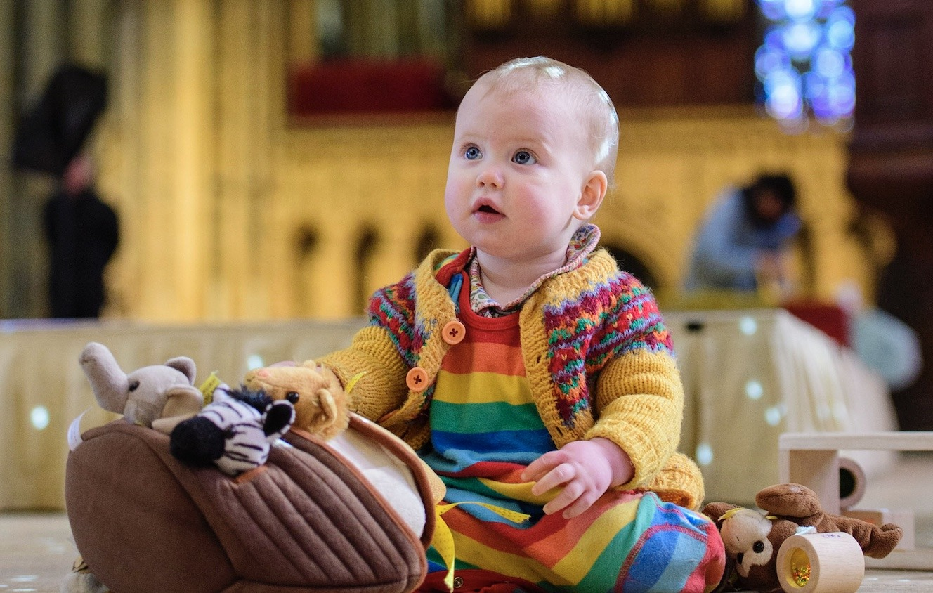 Pet Service at Worcester Cathedral Children too