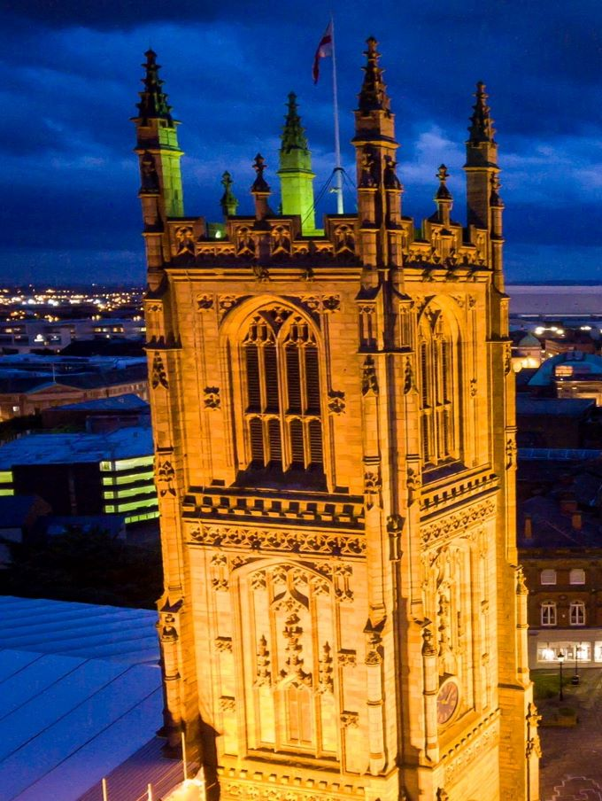 Cathedrals at Night-Derby-P