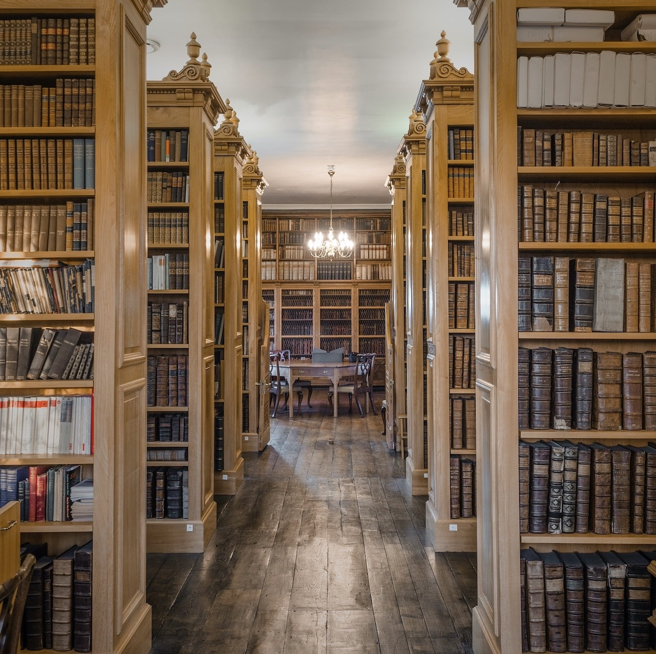 Beyond the library door - salisbury cathedral
